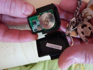замена батарейки в пульте ключей Лифан х60